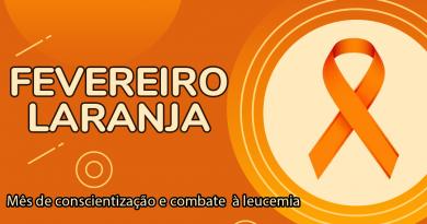 Fevereiro Laranja | Mês de conscientização da importância de doar medula óssea